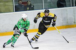 Linus Lundström of EHC Bregenzerwald during 5th game of final INL league ice hockey match between HK Playboy Slavija and EHC Bregenzerwald at Dvorana Zalog, on April 3, 2013, in Ljubljana, Slovenia. (Photo by Matic Klansek Velej / Sportida)