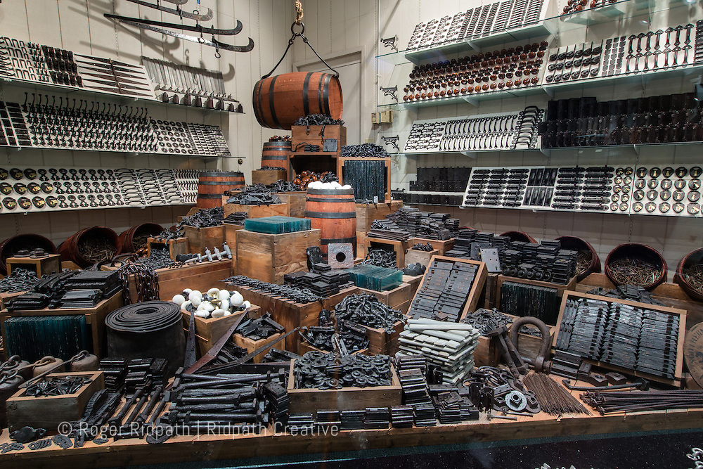 hardware supplies from the Arabia Steamboat Museum