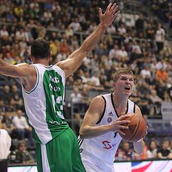 20141008: SRB, Basketball - ABA League, KK Partizan Beograd vs KK Krka Novo mesto