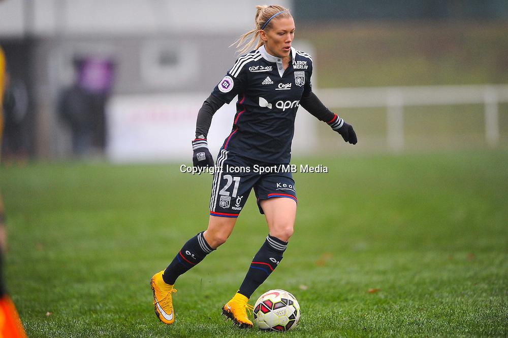 Lara DICKENMANN  - 03.12.2014 - Saint Etienne / Lyon - 11eme journee de Division 1<br /> Photo : Thomas Pictures / Icon Sport