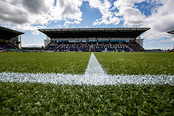 The Falkirk Stadium at the recent Falkirk v Livingston BetFred cup game.