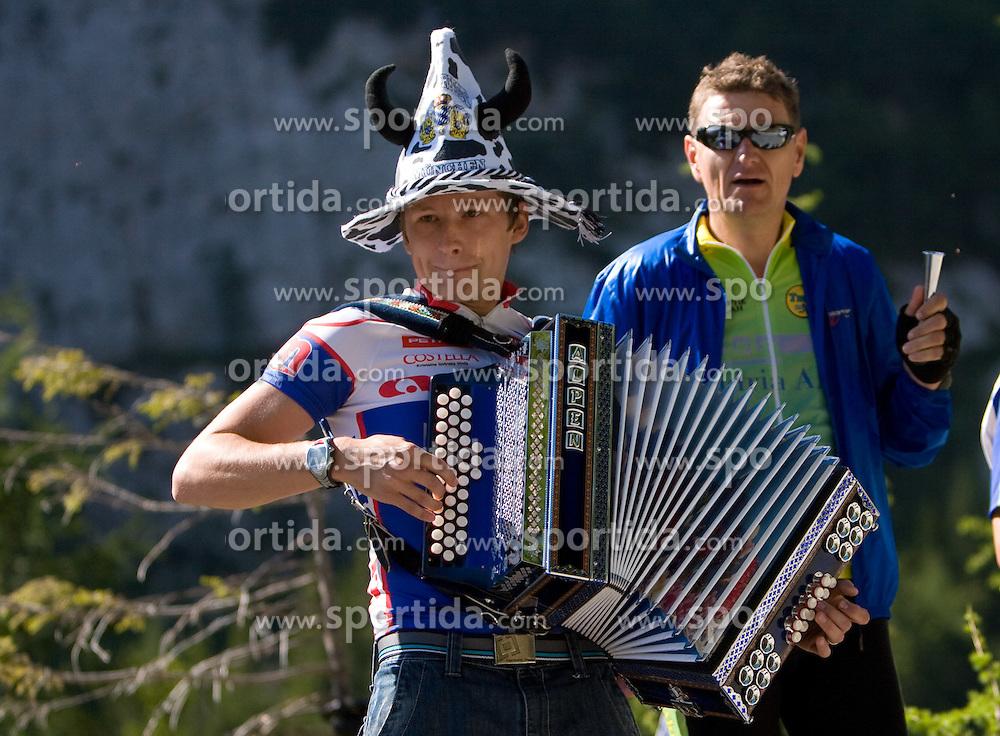 Spectators at 1st stage of Tour de Slovenie 2009 from Koper to Villach (229 km), on June 18 2009, in Koper, Slovenia. (Photo by Vid Ponikvar / Sportida)