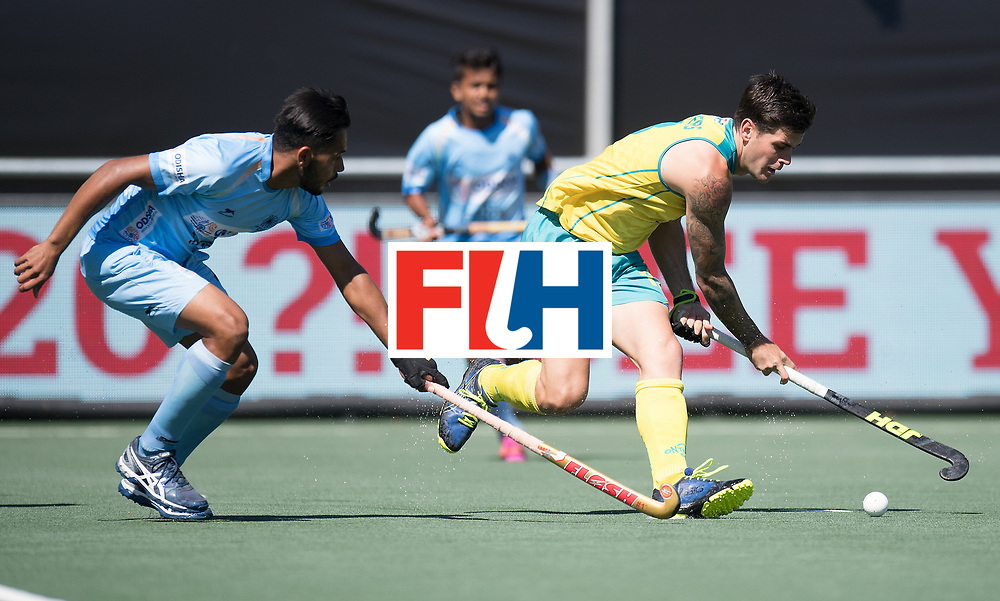 BREDA - Rabobank Hockey Champions Trophy<br /> Final Australia - India<br /> Photo: Blake Govers.<br /> COPYRIGHT WORLDSPORTPICS FRANK UIJLENBROEK