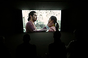 Kassel, Germany. Opening days of documenta14.<br /> Neue Neue Galerie.<br /> Arin Rungjang: 246247596248914102516... And then there were none, 2017