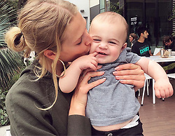 "Toni Garrn releases a photo on Instagram with the following caption: ""Almost ate this little guy alive today.. while mommy\u2019s were posing \ud83d\ude02\ud83d\ude08\u2764\ufe0f\ud83d\ude0d"". Photo Credit: Instagram *** No USA Distribution *** For Editorial Use Only *** Not to be Published in Books or Photo Books ***  Please note: Fees charged by the agency are for the agency's services only, and do not, nor are they intended to, convey to the user any ownership of Copyright or License in the material. The agency does not claim any ownership including but not limited to Copyright or License in the attached material. By publishing this material you expressly agree to indemnify and to hold the agency and its directors, shareholders and employees harmless from any loss, claims, damages, demands, expenses (including legal fees), or any causes of action or allegation against the agency arising out of or connected in any way with publication of the material."