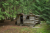 Beebe Cabin along the Canyon Trail, North Cascades Washington