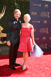 April 30, 2017 - Pasadena, CA, USA - LOS ANGELES - APR 30:  Stephen Nichols, Mary Beth Evans at the 44th Daytime Emmy Awards - Arrivals at the Pasadena Civic Auditorium on April 30, 2017 in Pasadena, CA (Credit Image: © Kathy Hutchins/via ZUMA Wire via ZUMA Wire)