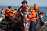 Refugees arrive on Lesbos, 14.08.15