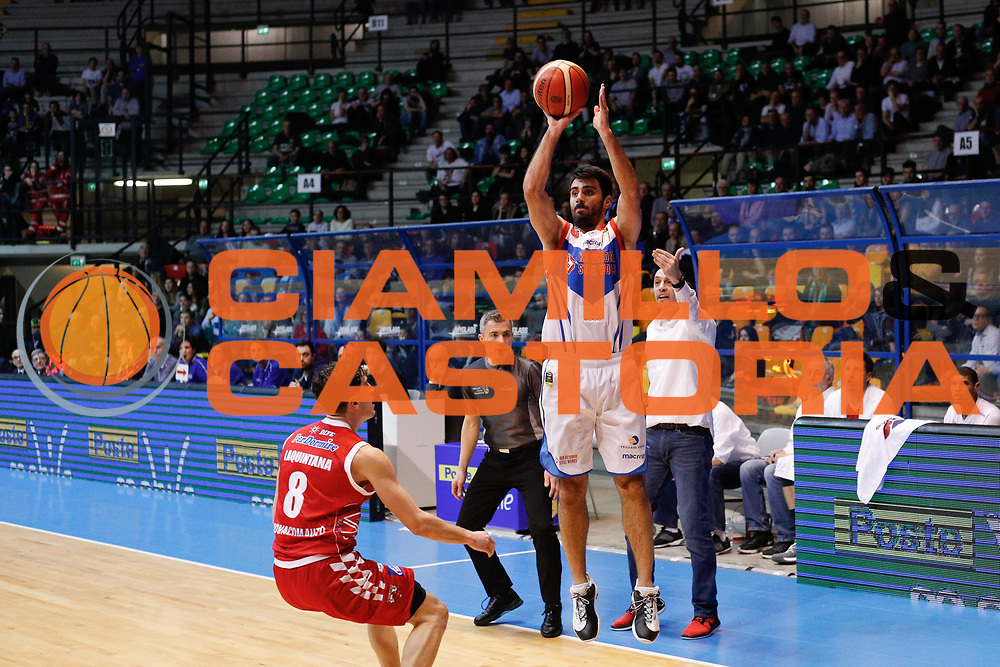 , RED OCTOBER MIA CANTU' vs THE FLEEX PISTOIA, Lega Basket Serie A 2017/2018, 21 giornata, PalaDesio 11 marzo 2018 foto:BERTANI/Ciamillo