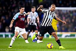 Jose Salomon Rondon of Newcastle United takes on Jack Cork of Burnley - Mandatory by-line: Robbie Stephenson/JMP - 26/11/2018 - FOOTBALL - Turf Moor - Burnley, England - Burnley v Newcastle United - Premier League