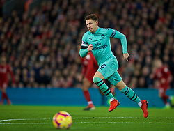 LIVERPOOL, ENGLAND - Saturday, December 29, 2018: Arsenal's Aaron Ramsey during the FA Premier League match between Liverpool FC and Arsenal FC at Anfield. (Pic by David Rawcliffe/Propaganda)