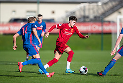 LIVERPOOL, ENGLAND - Monday, February 24, 2020: Liverpool's Neco Williams during the Premier League Cup Group F match between Liverpool FC Under-23's and AFC Sunderland Under-23's at the Liverpool Academy. (Pic by David Rawcliffe/Propaganda)