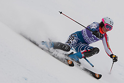 19.12.2010, Val D Isere, FRA, FIS World Cup Ski Alpin, Ladies, Super Combined, im Bild Leanne Smith (USA) whilst competing in the Slalom section of the women's Super Combined race at the FIS Alpine skiing World Cup Val D'Isere France. EXPA Pictures © 2010, PhotoCredit: EXPA/ M. Gunn / SPORTIDA PHOTO AGENCY