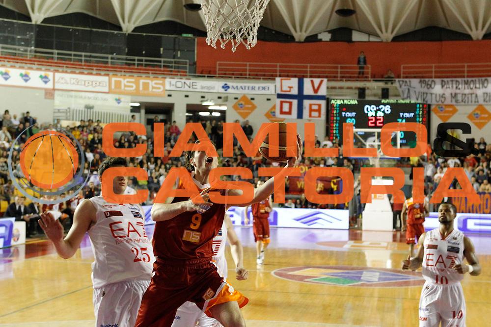 DESCRIZIONE : Roma Lega A 2011-12 Acea Roma  EA7 Emporio Armani Milano GIOCATORE : Marco Mordente SQUADRA : Acea Roma DATA : 2012-04-26CATEGORIA : SPORT : Pallacanestro AUTORE : AGENZIA CIAMILLO & CASTORIA/G.Ciamillo