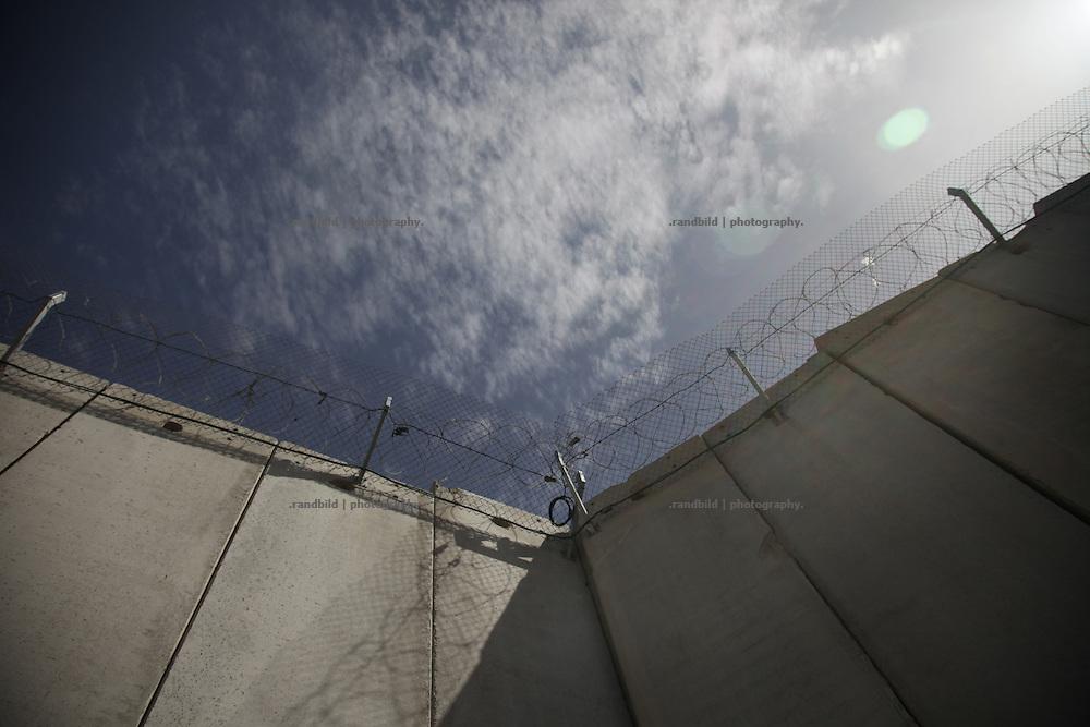 Separation Wall in Jerusalem near Abu Dis.