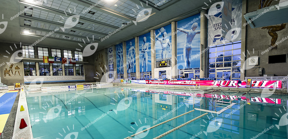 Foro Italico<br /> Italy Vs. Turkey <br /> FINA Water Polo World League 2015-16 ITA-TUR<br /> Photo G. Scala/Deepbluemedia