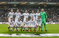 FOOTBALL: The team of FC København before the UEFA Europa League Group F match between FC København and FC Zlin at Parken Stadium, Copenhagen, Denmark on November 2, 2017. Photo: Claus Birch