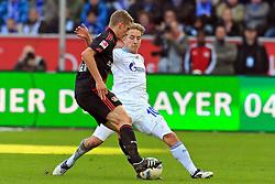 23.10.2011,  BayArena, Leverkusen, GER, 1.FBL, Bayer 04 Leverkusen vs Schalke 04, im Bild.Lars Bender (Leverkusen #8) gegen Lewis Holtby (Schalke #10)..// during the 1.FBL, Bayer Leverkusen vs Schalke 04 on 2011/10/23, BayArena, Leverkusen, Germany. EXPA Pictures © 2011, PhotoCredit: EXPA/ nph/  Mueller       ****** out of GER / CRO  / BEL ******