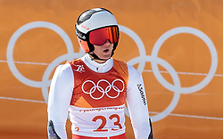 15.02.2018, Yongpyong Alpine Centre, Yongpyong, KOR, PyeongChang 2018, Ski Alpin, Damen, Riesenslalom, im Bild Ricarda Haaser (AUT) // Ricarda Haaser of Austria during the Ladies Alpine Giant Slalom Race of the Pyeongchang 2018 Winter Olympic Games at the Yongpyong Alpine Centre in Yongpyong, South Korea on 2018/02/15. EXPA Pictures © 2018, PhotoCredit: EXPA/ Johann Groder