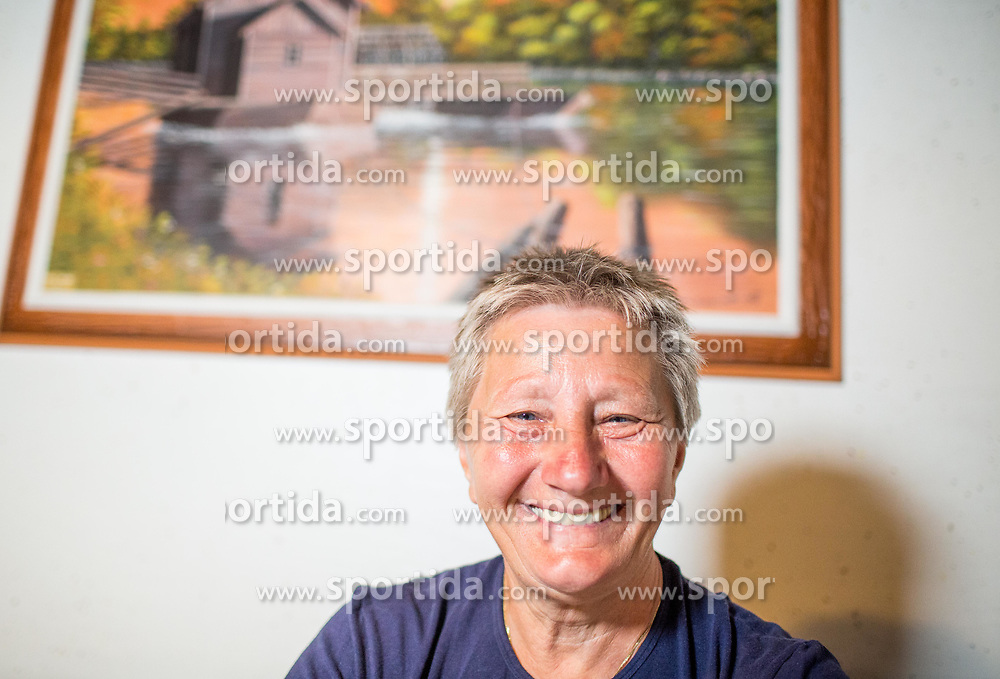 Portrait of Slovenian bowler Marika Kardinar - Nagy in her house in Dobrovnik in Slovenia, on June 15, 2018. Photo by Vid Ponikvar / Sportida