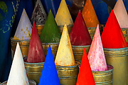 Pigments for sale, Kasbah of Marrakesh