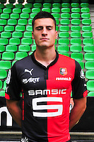 Gojko ZAJKOV - 15.09.2014 - Photo officielle Rennes - Ligue 1 2014/2015<br /> Photo : Philippe Le Brech / Icon Sport