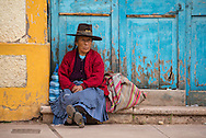 South America, Peru,Cuzco, Native village