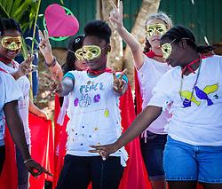 "Grade 8 Middle Years Program 3 Peace Superheroes and Villains Skit ""Teach Me to Be Peaceful"" Rap.  2012 Peace Day Celebration.  VI Montessori School and International Academy.  21 September 2012.  © Aisha-Zakiya Boyd"