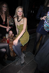 ALEXIA INGE at the Tatler Little Black Book Party held at Chinawhite, 4 Winsley Street, London on 20th November 2009.