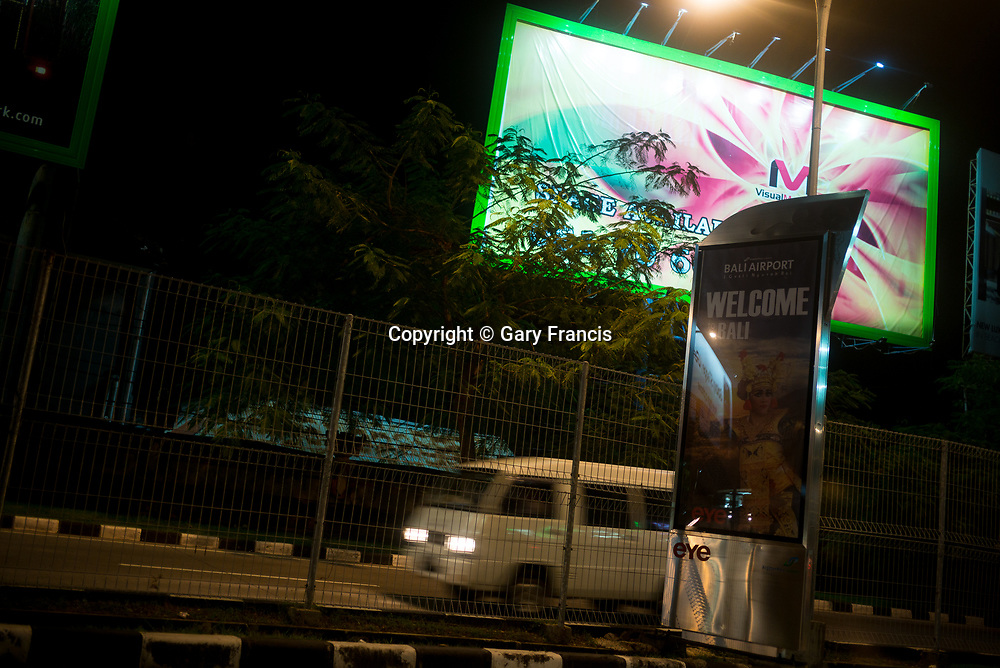 Bali international airport welcome - Bali revisited February 2017