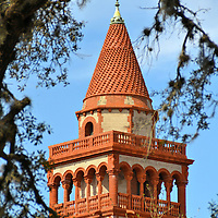 Tower at Flager College in St. Augustine, Florida<br />