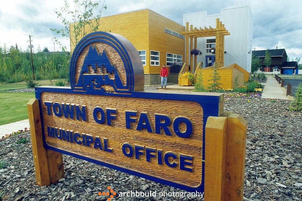 Town of Faro municipal office