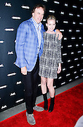 Kevin Nealon and Portia de Rossi attend the 2014 AOL Newfront at the Duggal Greenhouse in the Brooklyn Navy Yard in Brooklyn, New York in April 29, 2014.