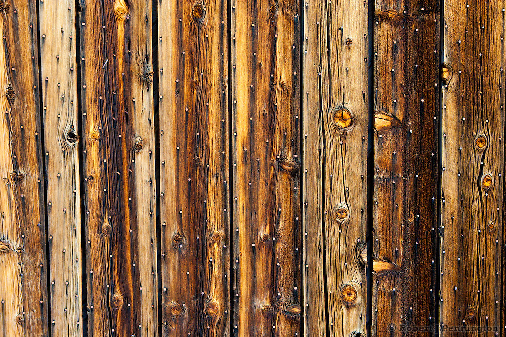 Weathered Wood on an abandoned barn in the Mojave Desert, Nevada.