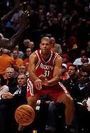 Jan. 6 2010; Phoenix, AZ, USA;  Houston Rockets forward Shane Battier (31) makes a pass against the Phoenix Suns at the US Airways Center. Phoenix Suns defeated the Houston Rockets 118-110. Mandatory Credit: Jennifer Stewart-US PRESSWIRE