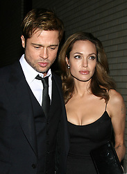September 20, 2016 - 9/18/07.Brad Pitt and Angelina Jolie at the premiere of ''The Assassination of Jesse James by the Coward Robert Ford''..(NYC) (Credit Image: © Starmax/Newscom via ZUMA Press)