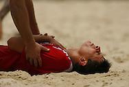Football-FIFA Beach Soccer World Cup 2006 - Group A-Brasil - Poland, Beachsoccer World Cup 2006. Poland`s Ziober- Rio de Janeiro - Brazil 03/11/2006 <br /> Mandatory credit: FIFA/ Manuel Queimadelos