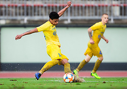 Darrick Kobie Morris of Domzale during football match between NK Triglav Kranj and NK Domzale in 35th Round of Prva liga Telekom Slovenije 2018/19, on May 22nd, 2019, in Sports park Kranj, Slovenia. Photo by Vid Ponikvar / Sportida