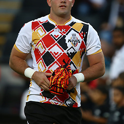 DURBAN, SOUTH AFRICA - MAY 21: Steven Sykes (captain) of the Southern Kings during the Super Rugby match between Cell C Sharks and Southern Kings at Growthpoint Kings Park on May 21, 2016 in Durban, South Africa. (Photo by Steve Haag/Gallo Images)