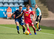 10th August 2019; Dens Park, Dundee, Scotland; SPFL Championship football, Dundee FC versus Ayr; Andy Murdoch of Ayr United and Jordan Marshall of Dundee