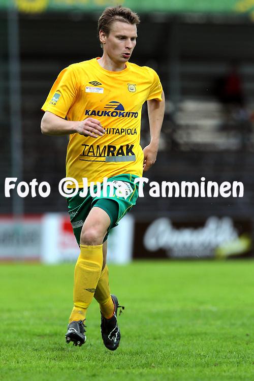 13.5.2013, Tammelan stadion, Tampere.<br /> Ykk&ouml;nen 2013, Ilves - Sein&auml;joen Jalkapallokerho.<br /> Heikki Aho - Ilves