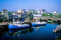 Peggy's Cove (fishing village), near Halifax, Nova Scotia, Canada