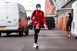 Niclas Eliasson of Bristol City arrives during a friendly match before the Premier League and Championship resume after the Covid-19 mid-season disruption - Rogan/JMP - 12/06/2020 - FOOTBALL - St Mary's Stadium, England - Southampton v Bristol City - Friendly.