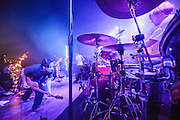 British Sea Power performing at Leeds Festival in the UK on September 24, 2013.