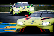 June 12-17, 2018: 24 hours of Le Mans. 97 Aston Martin Racing