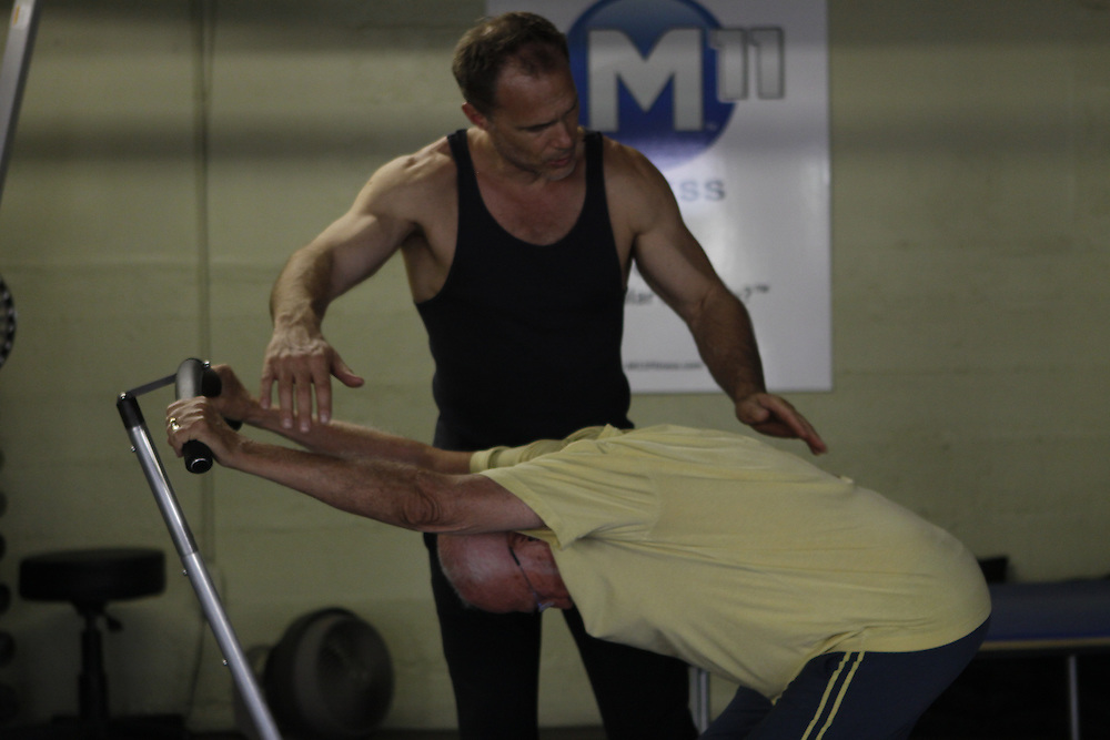 M11 Fitness is a self-empowering movement system that offers techniques to eliminate chronic pain and to increase strength and mobility. M11 Fitness is founded on the dedication to help people heal their bodies and to live happier, healthier and more active lives.<br />