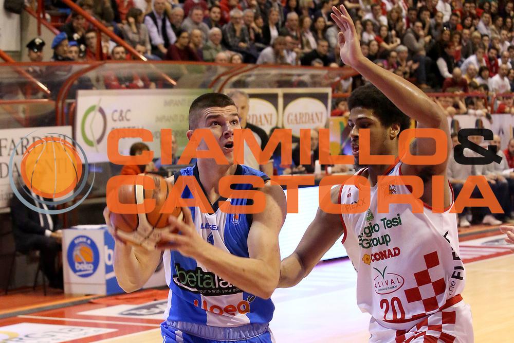 DESCRIZIONE : Campionato 2015/16 Giorgio Tesi Group Pistoia Betaland Capo D'Orlando<br /> GIOCATORE : Stojanovic Vojislav <br /> CATEGORIA : Penetrazione<br /> SQUADRA : Betaland Capo D'Orlando<br /> EVENTO : LegaBasket Serie A Beko 2015/2016<br /> GARA : Giorgio Tesi Group Pistoia - Betaland Capo D'Orlando<br /> DATA : 03/01/2016<br /> SPORT : Pallacanestro <br /> AUTORE : Agenzia Ciamillo-Castoria/S.D'Errico<br /> Galleria : LegaBasket Serie A Beko 2015/2016<br /> Fotonotizia : Campionato 2015/16 Giorgio Tesi Group Pistoia - Betaland Capo D'Orlando<br /> Predefinita :