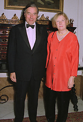 SIR DAVID & LADY RAMSBOTHAM, he is HM Chief Inspector of Prisons, at a dinner in London on 2nd October 1997.MBW 2