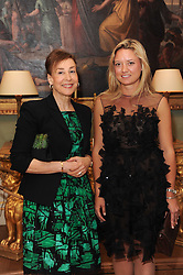 A party to promote the exclusive Puntacana Resort & Club - the Caribbean's Premier Golf & Beach Resort Destination, was held at Spencer House, London on 13th May 2010.<br /> <br /> Picture shows:- Left to right, DEBORAH BENNETT and LAUREN SCOTT.