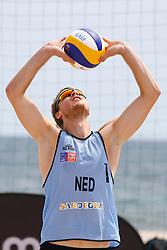 20140606 ITA: EK Beachvolleybal, Cagliari<br /> Jon Stiekema<br /> ©2014-FotoHoogendoorn.nl / Pim Waslander